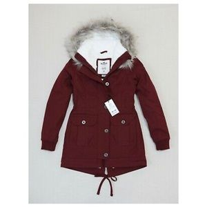 Cozy Lined Parka Outerwear Jacket